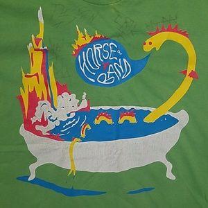 HORSE THE BAND signed autograph bathtub tee shirt